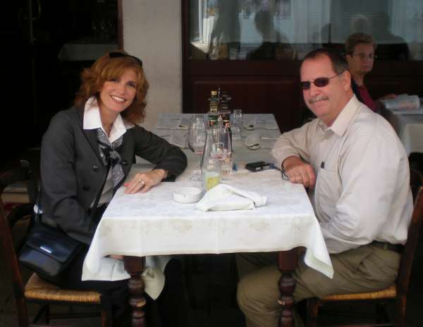 Susan Cofrancesco Green and Michael Green in Italy